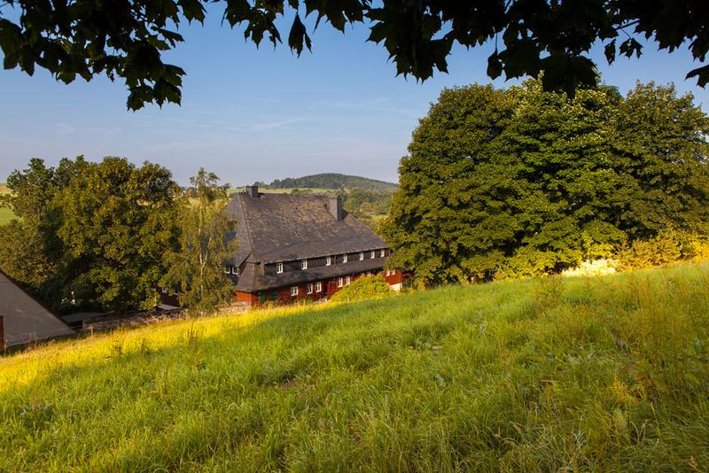 Historisches Verlegerhaus mit Ferienwohnungen in Seiffen