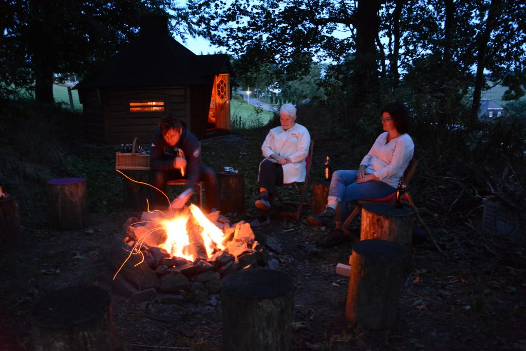 Abend am Lagerfeuer