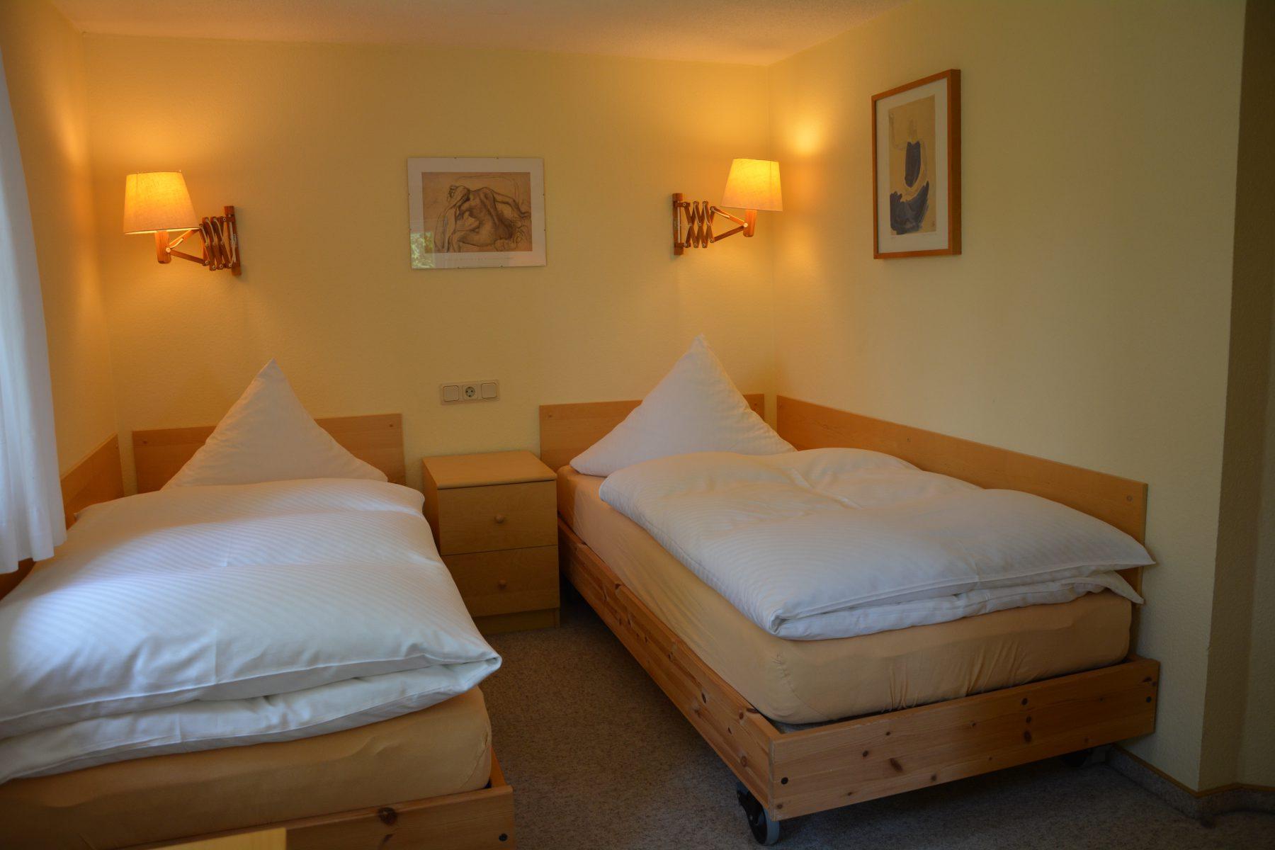 Ferienwohnung im Verlegerhaus Seiffen Kategorie N3a Schlafzimmer