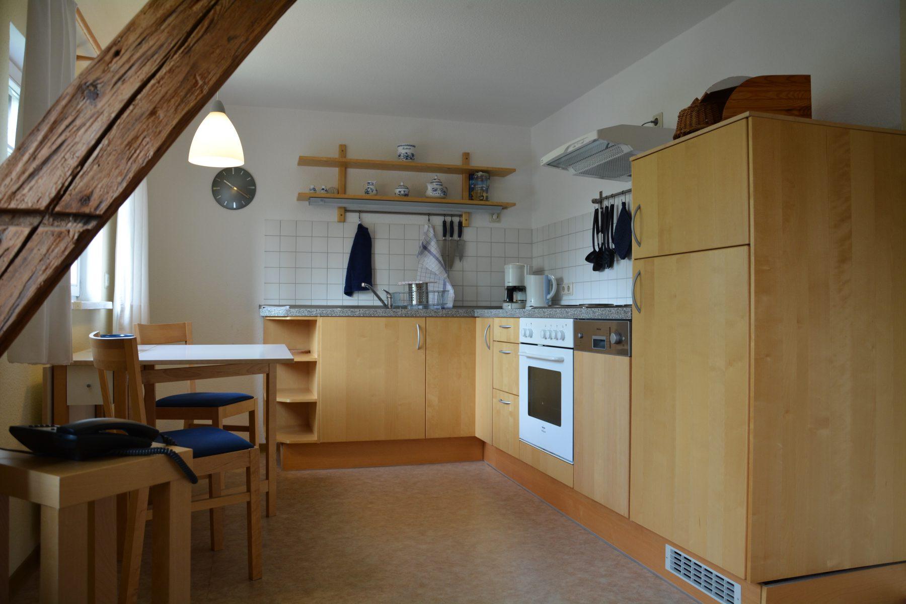 Ferienwohnung im Verlegerhaus Seiffen Kategorie N2b Küche