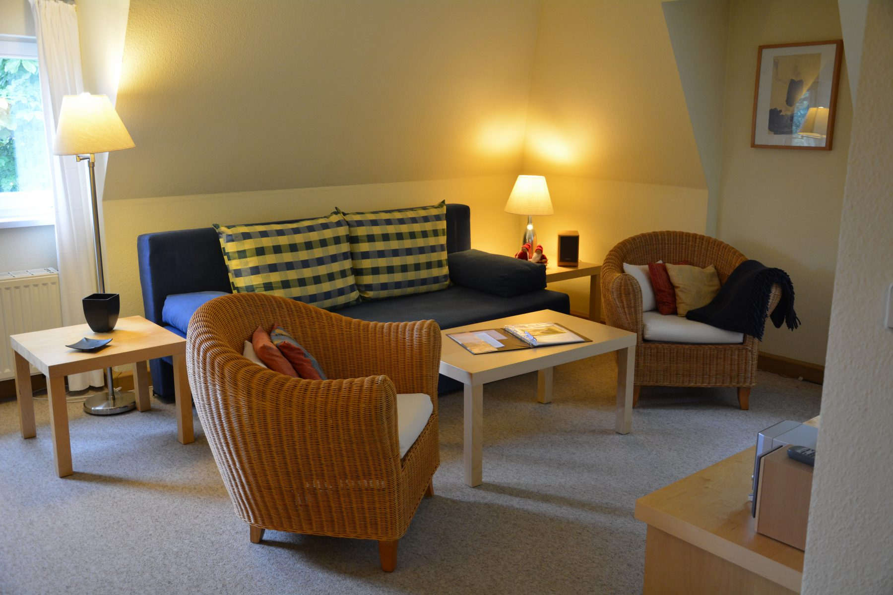 Ferienwohnung im Verlegerhaus Seiffen Kat N1b Wohnzimmer