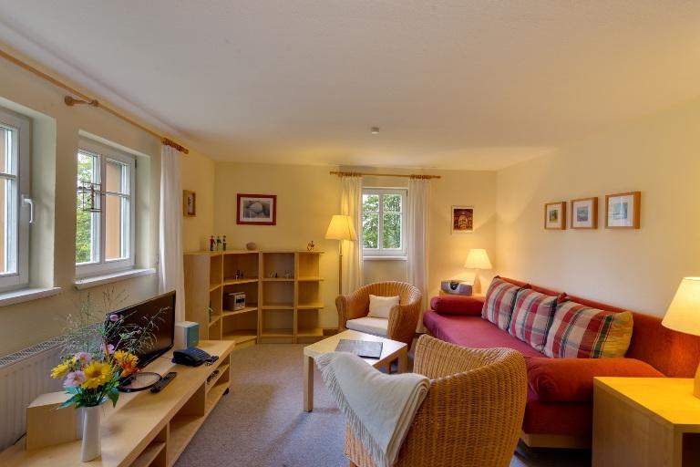 Ferienwohnung im Verlegerhaus Seiffen Kategorie N1d Wohnzimmer