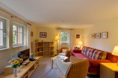 Ferienwohnung im Verlegerhaus für 2 bis 4 Personen