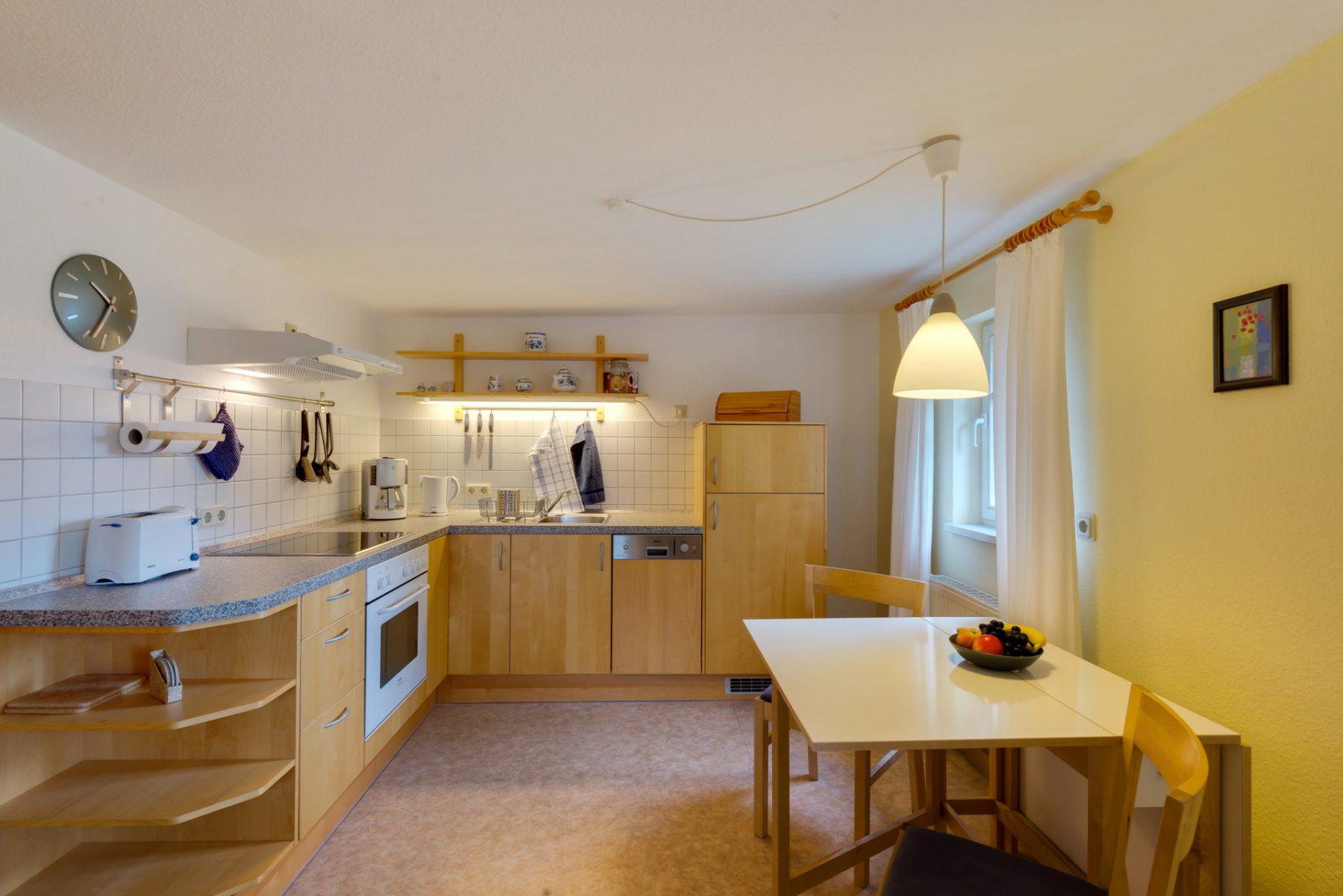 Ferienwohnung im Verlegerhaus Seiffen Kategorie N1d Küche