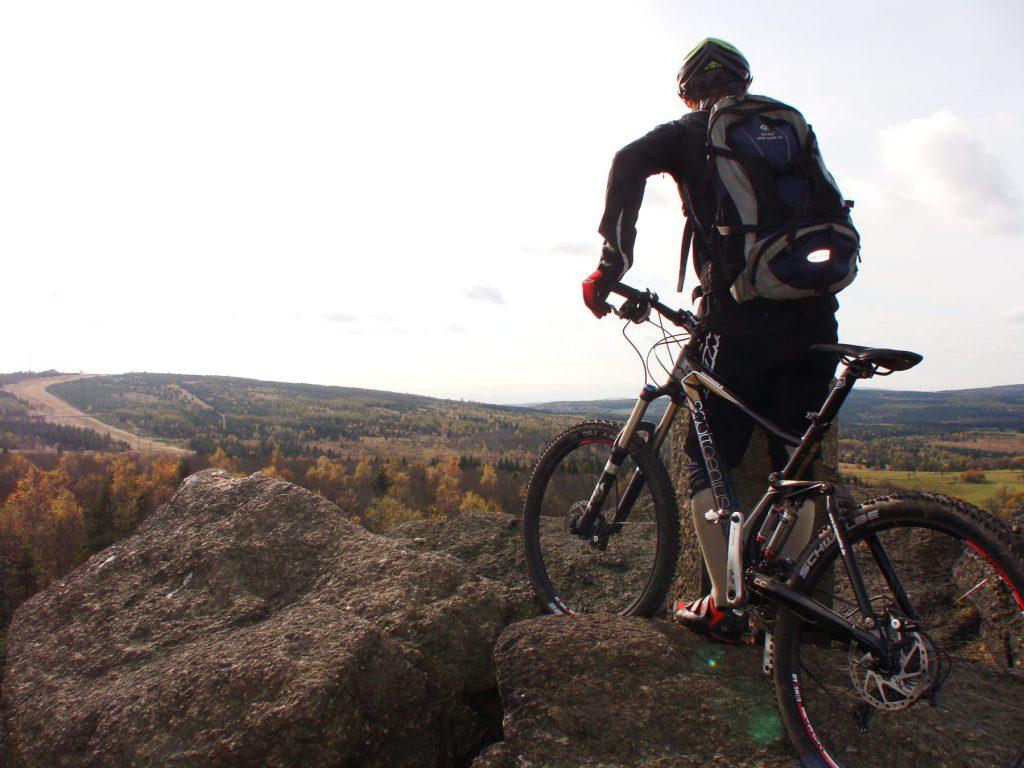 Ferienwohnungen im Verlegerhaus Seiffen - Mountainbiking am Erzgebirgskamm