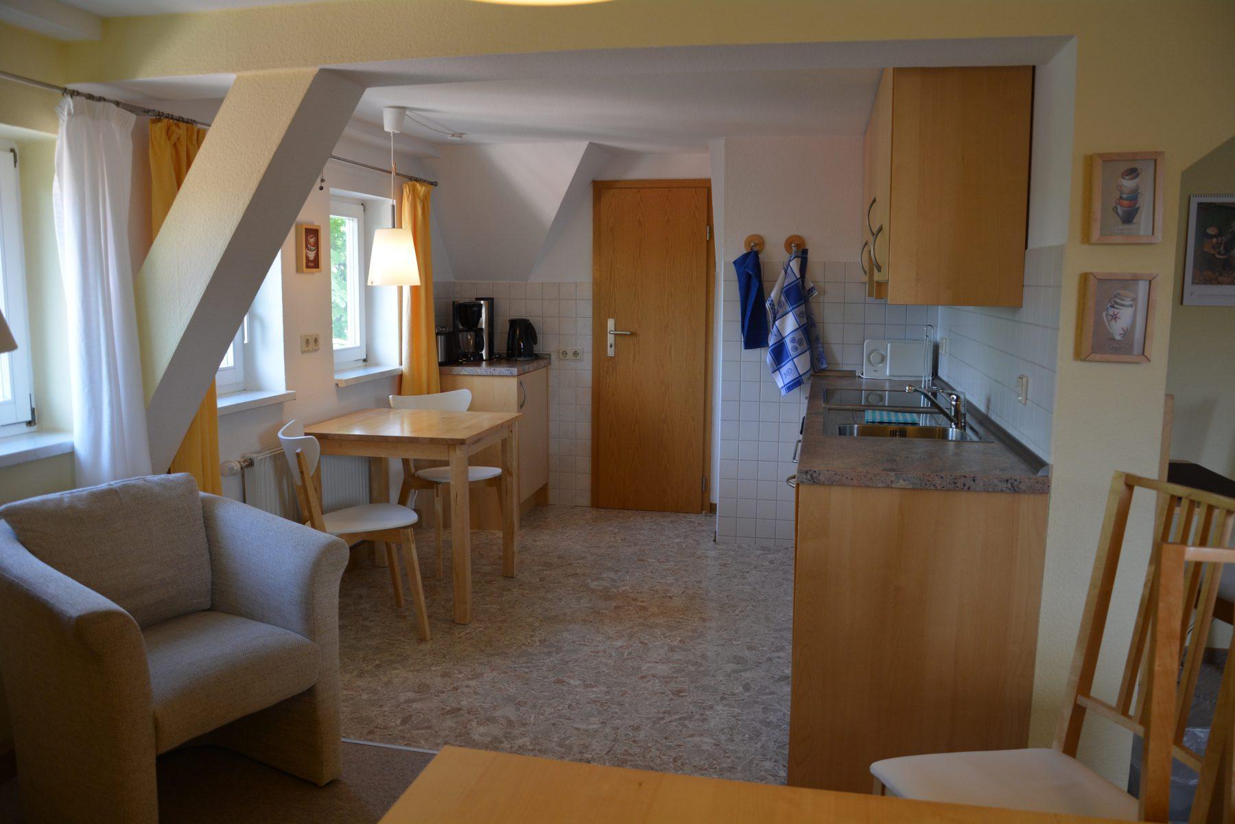 Ferienwohnung im Verlegerhaus Seiffen Kategorie N4 Küche