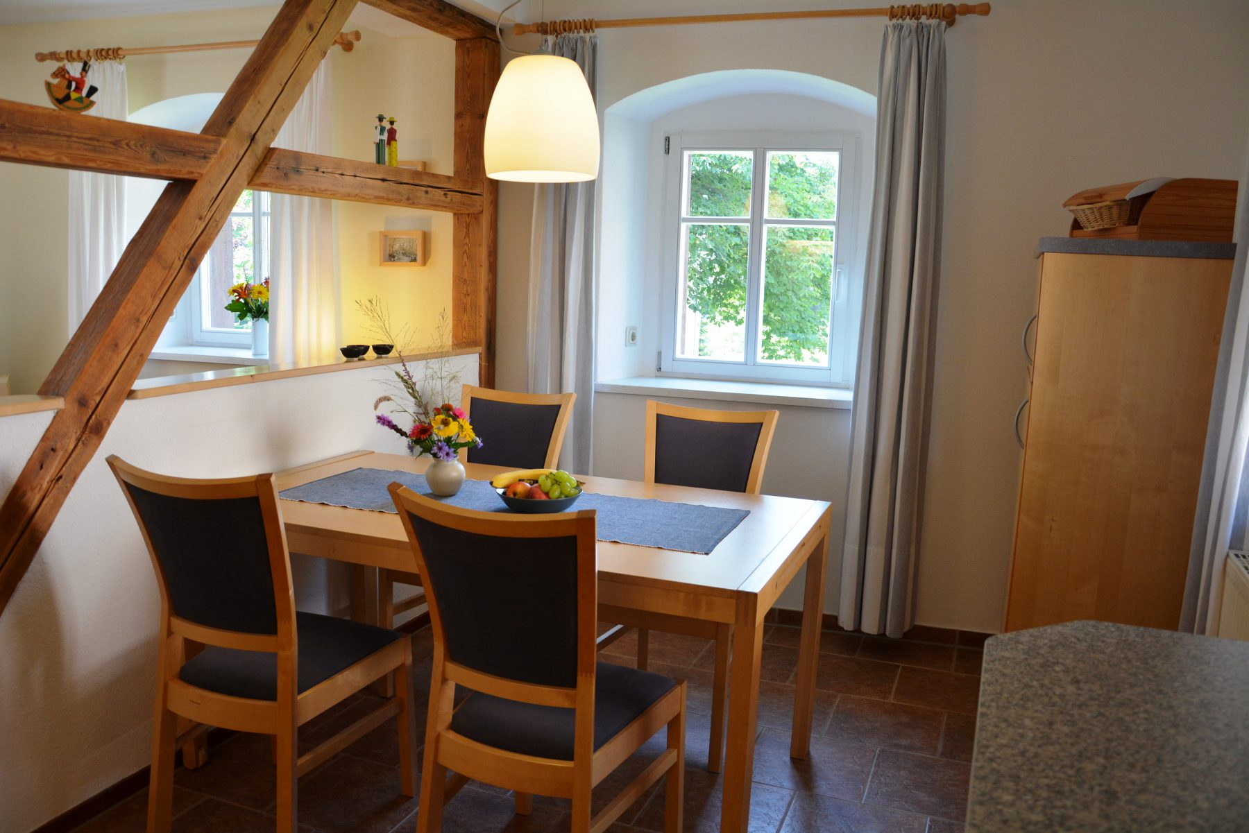 Ferienwohnung imVerlegerhaus Seiffen Kategorie S5***** Detail Küche