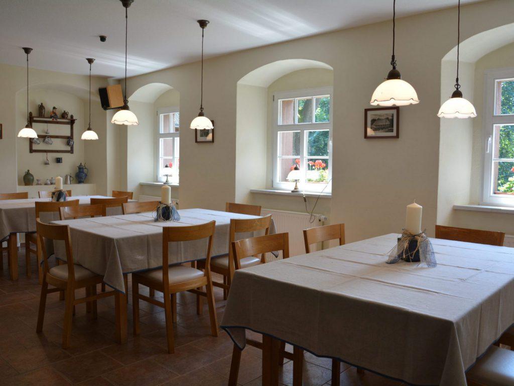 Restaurierte Bauernküche im Verlegerhaus heute