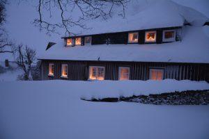 Verlegerhaus in Seiffen - Winter und Weihnachten im Erzgebirge