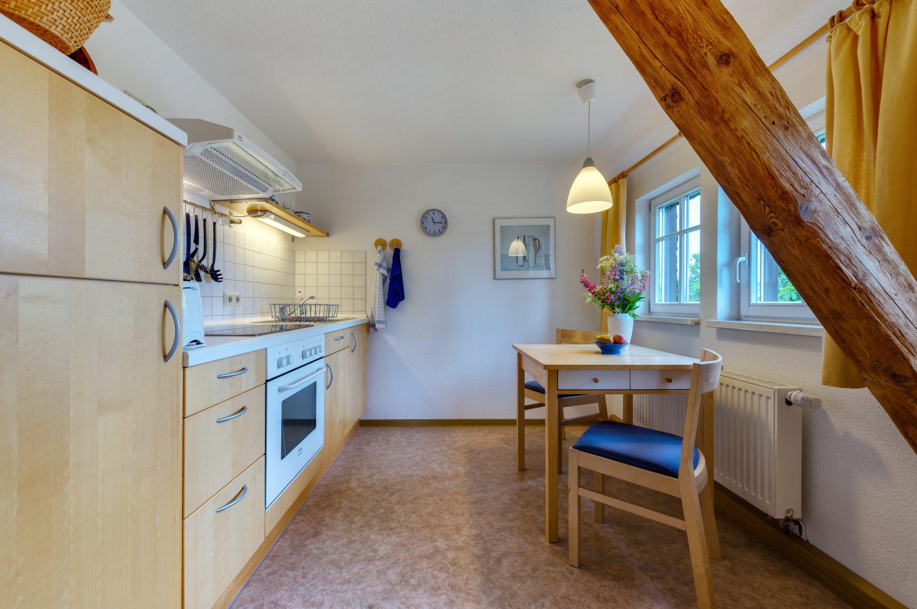 Ferienwohnung im Verlegerhaus Seiffen Kategorie N3b Küche