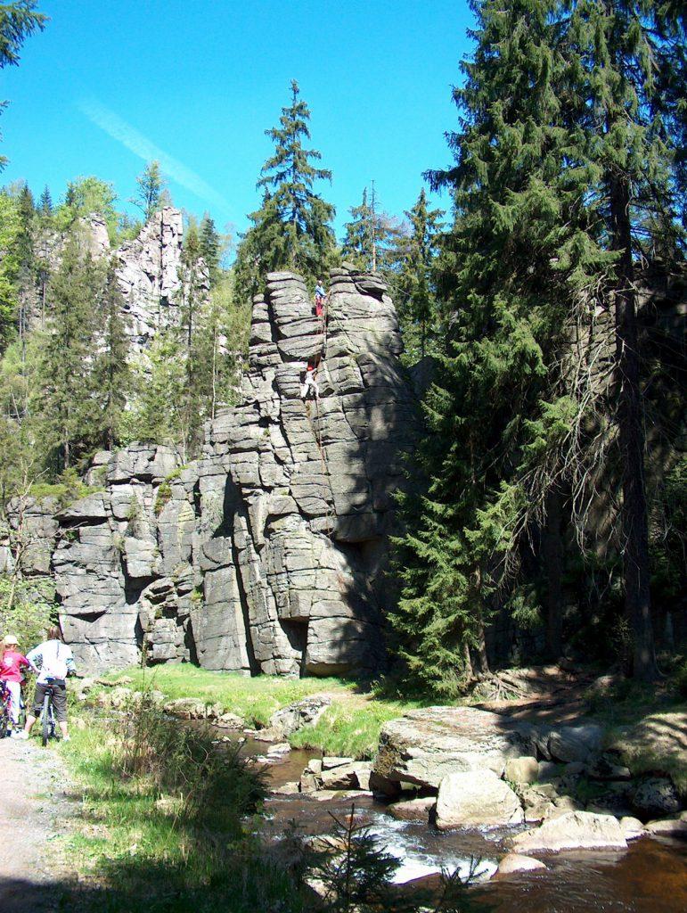 Verlegerhaus in Seiffen - Wandern im Erzgebirge